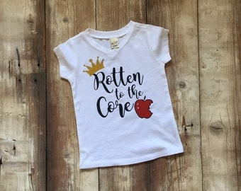 Rotten to the Core V-Neck T-Shirt!