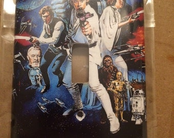 Star wars single lightswitch cover