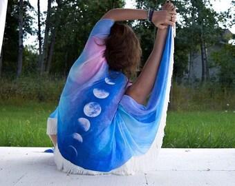 Moon Phase Kimono,Boho Kimono,Hippie Kimono,boho clothes for women,Boho,Hippie clothes,beach wear,beach kimono,boho tops, hippie tops