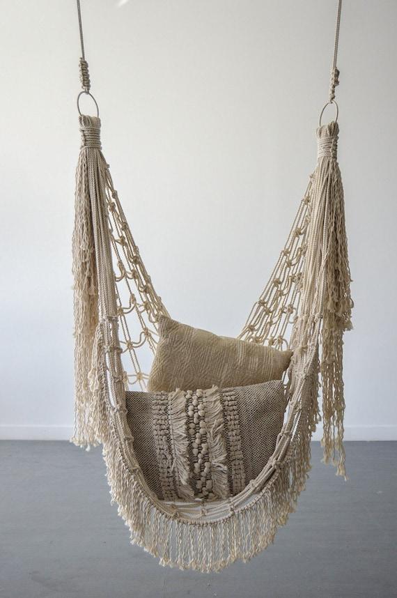 macrame hammock chair