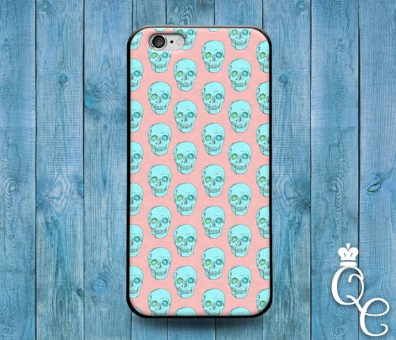 iPhone 4 4s 5 5s 5c SE 6 6s 7 plus iPod Touch 4th 5th 6th Generation Cute Custom Green Pink Girl Boy Skull Pattern Pirate Phone Cover Case