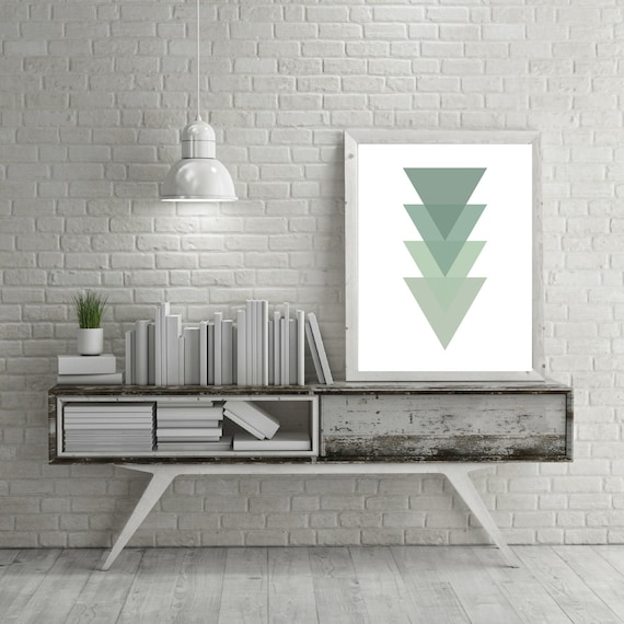 Minimalist Classroom Wallpaper ~ Minimalist geometric wall art by
