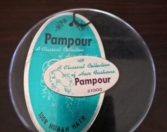 Vintage Pampour Human Hair Piece  **FREE SHIPPING**
