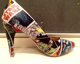 Custom Star Wars Heels Pumps