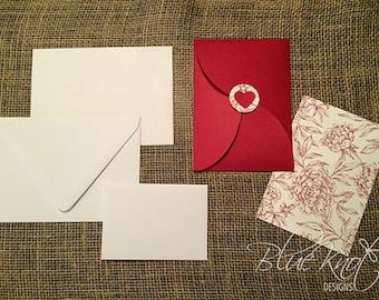 DIY Wedding Invitation Suite - Petal Fold Design