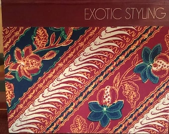 Art of Sewing - Exotic Styling/Time-Life Books/Sewing Fashion design Book/Decorative Books