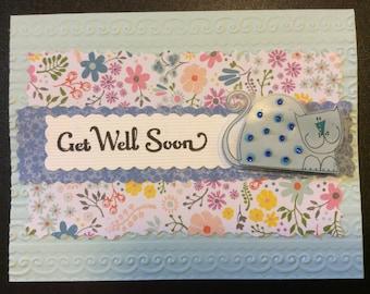 Homemade Card - Get Well Soon