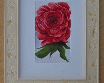 Flower Painting #6 Framed