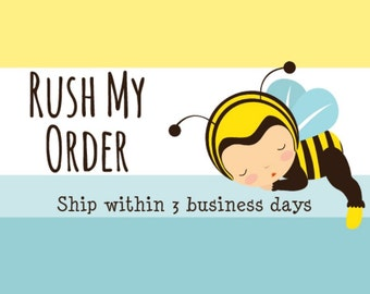 Add on to ship within 3 business days