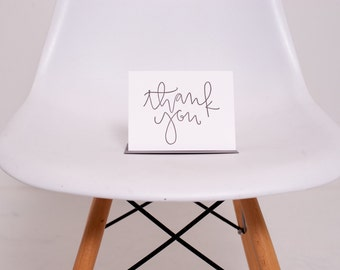 Letterpress Card // Thank You