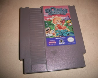 Bonks Adventure NES Nintendo reproduction Game