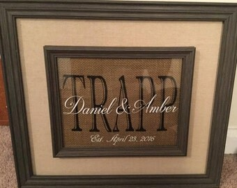 Custom Frames and Signs