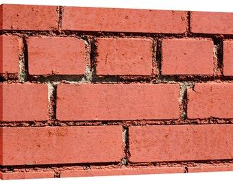 Brick Wall Canvas Wall Art