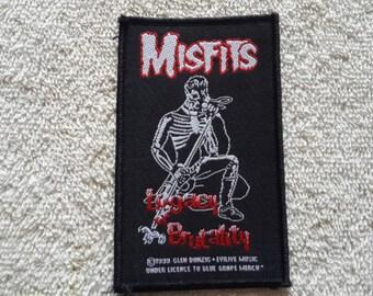 1993 Misfits Patch