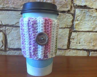 Pretty pastel coozie