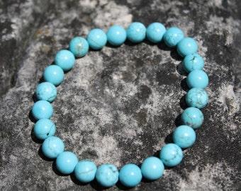 Turquoise Gemstone Bracelet, Gemstone Bracelet, Turquoise Bracelet,