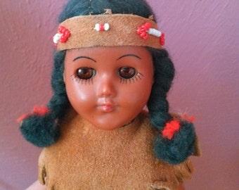 Vintage souvenir doll