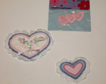 Heart Appliques - Valentine's Day