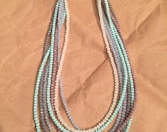 Muted tones necklace