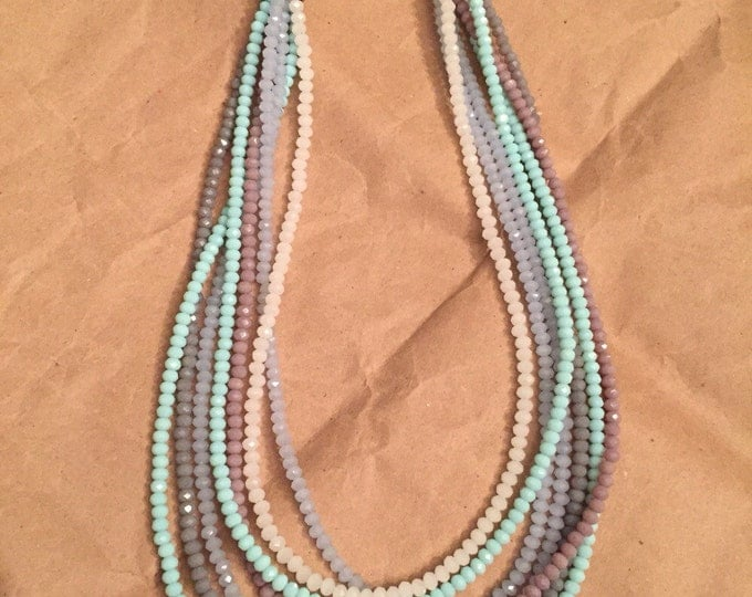 Muted muse necklace