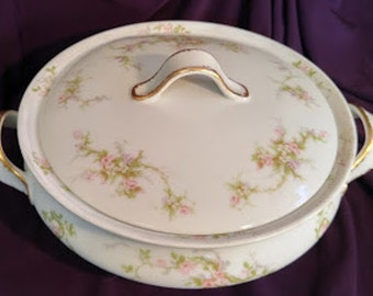 Theodore Havilland Limoges France Round Serving Bowl