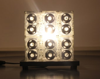 Cassette Tape Lamp (Black Base)