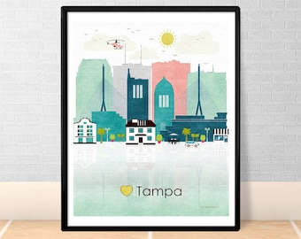 Tampa Printable Etsy: home decor tampa