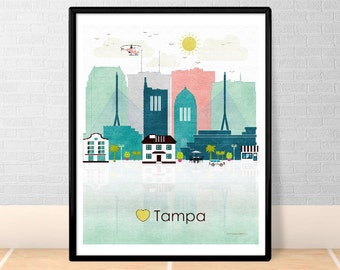 Tampa printable etsy Home decor tampa