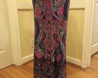 Casual Full Length Maxi Skirt