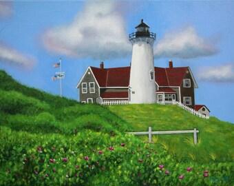 Nobska Lighthouse Cape Cod
