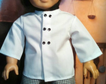 French Head Chef Outfit for American Girl Doll.   A087