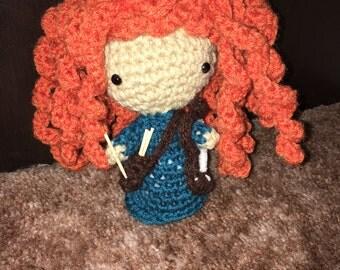 Crocheted Princess Merida
