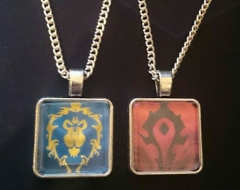 """18"""" Silver Chain Necklace (World of Warcraft)"""