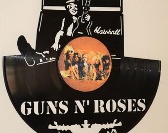 Guns N Roses Slash Record Wall Art