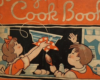 Children's Cookbook, Jolly Times Cook Book, Osborn, Biers, Rand McNally and Company