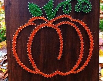Pumpkin String Art, READY TO SHIP