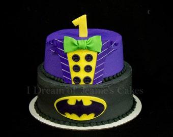 Batman and The Joker Cake Topper