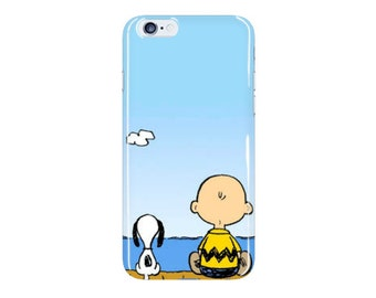 Charlie Brown and Snoopy Phone Case