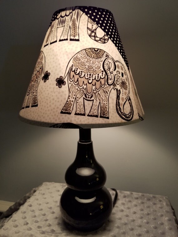 Elephant Lamp Zoo Animal Nursery Lamp Accent Elephant Lamp