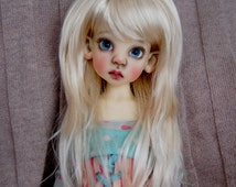DOLL WIG Size 7-8 fit perfectly on Kaye Wiggs, Connie Lowe, Dollstown Kim Lasher, Little Darling MSD Doll