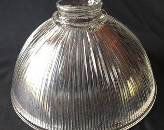 Vintage Hollophane Prismatic Light Shade for Pendant or Sconce