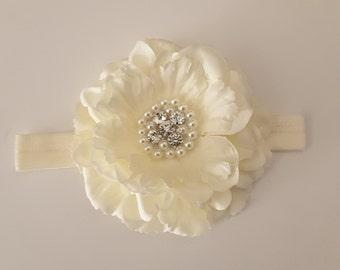 Ivory Peony flower