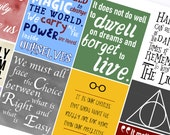 Harry Potter Quote Boxes - Planner Stickers (SKU100)