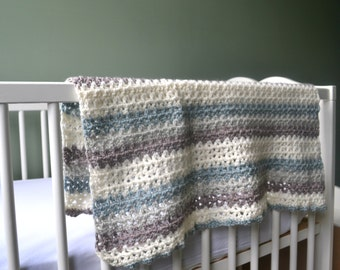 The Selkie baby blanket.