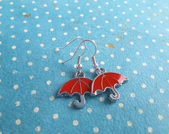 Red Umbrella Dangles