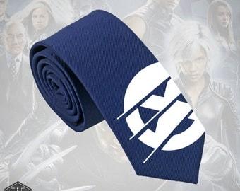 X-Men Apocalypse Silk Tie. Slim Tie. Wolverine. Wedding Tie, Christmas Gift, Fathers Day Gift. Birthday Gift. FREE UK Shipping!