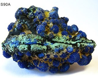 SALE! Scarce Bisbee Arizona Azurite Malachite Specimen - 137ct