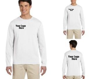 Custom Printed Long Sleeve T-Shirt