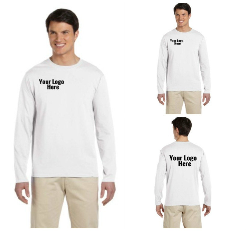 Custom printed long sleeve t shirt for Long sleeve t shirt printing