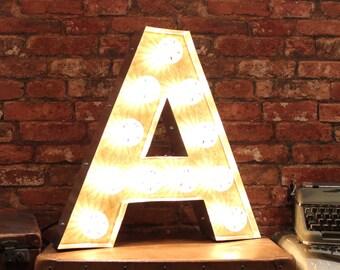 Letter Light A